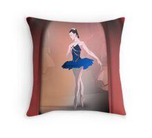 Nutcracker Ballerina Throw Pillow