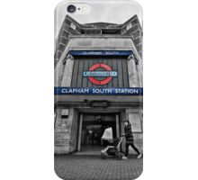 Clapham South Tube Station iPhone Case/Skin