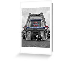 Clapham South Tube Station Greeting Card