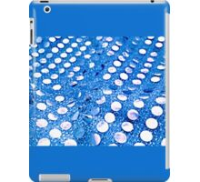 Blue Mirror Circles iPad Case/Skin