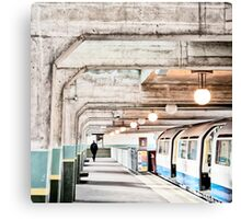 Cockfosters Tube Station Canvas Print