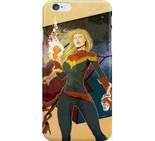 Captain Marvel iPhone Case/Skin