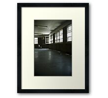 Fairfield Hills State Hospital: Illusions of Freedom Framed Print