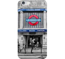 Colliers Wood Tube Station iPhone Case/Skin