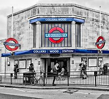 Colliers Wood Tube Station by AntSmith