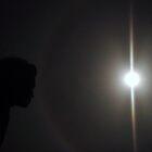Kissing a Moonbow, Please Enlarge! by Lesley Ortiz