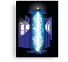 Here Lies The Doctor Canvas Print