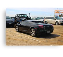 expensive cars Canvas Print