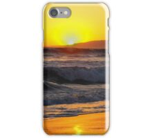sunsets on the beach in california iPhone Case/Skin