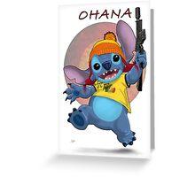 Ohana: Firefly/Stitch Mashup Greeting Card