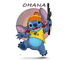 Ohana: Firefly/Stitch Mashup Photographic Print