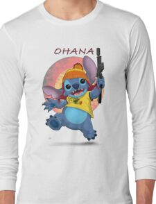 Ohana: Firefly/Stitch Mashup Long Sleeve T-Shirt