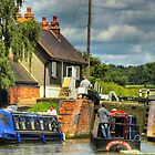 Into The Lock - Stoke Bruerne by SimplyScene
