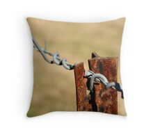 star picket fence #1 Throw Pillow