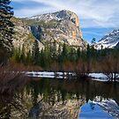 Mt. Watkins at Mirror Lake by Leroy Laverman