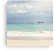 The Sea sings my Name Metal Print