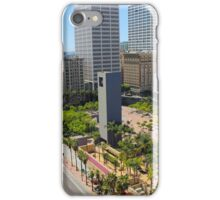 downtown los angeles iPhone Case/Skin