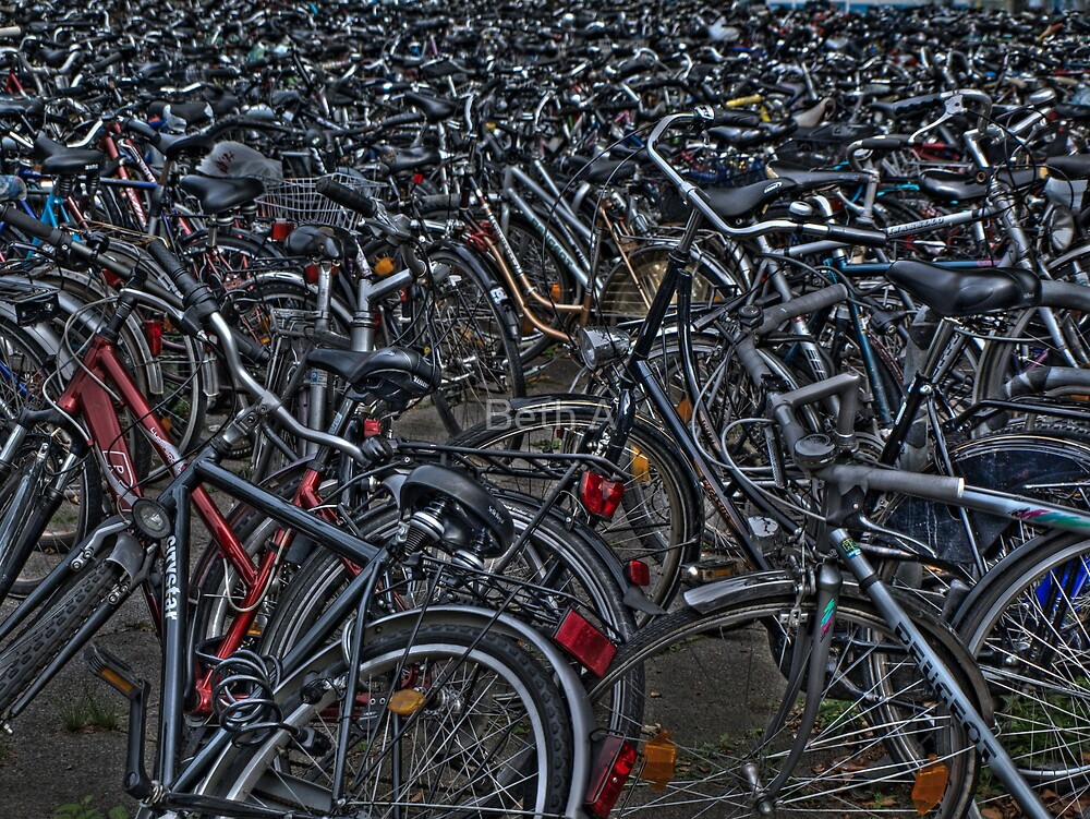 Now, where did I leave my bike?! by Beth A