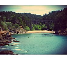 Russian Gulch State Park Photographic Print
