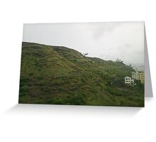 temple @ hill top Greeting Card