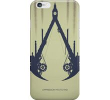 Oppression Has To End iPhone Case/Skin