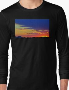 New Mexico Sunset Long Sleeve T-Shirt