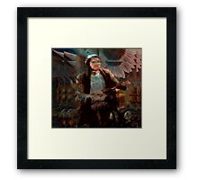 biking through vincent's dream... Framed Print