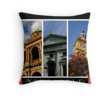 City Snippets Throw Pillow