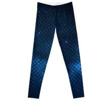 Mermaid in Space! (blue edition) Leggings