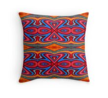 Hearts and Bows Throw Pillow