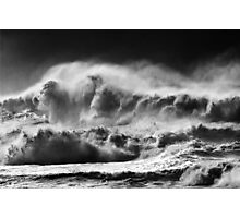 Winter Waves At Pipeline Photographic Print