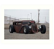 Rat Rod 'Prison Punk' II Art Print