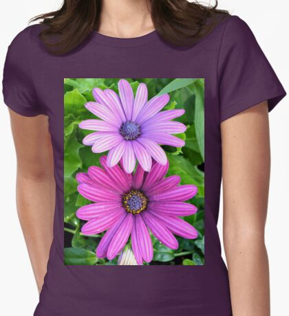 Blue-Eyed Daisy Womens Fitted T-Shirt