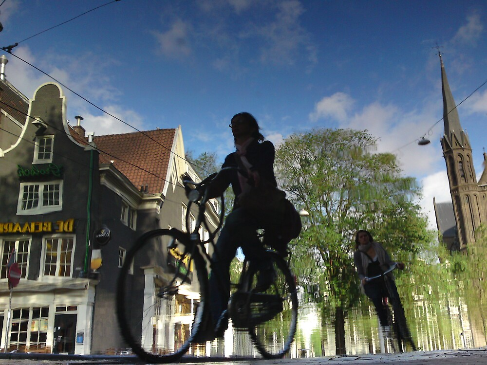 Reflections of Amsterdam - Urban Racer by AmsterSam