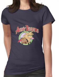 Angry Beavers Womens Fitted T-Shirt
