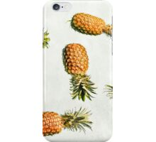 Floating Pineapple Vintage Clutch iPhone Case/Skin