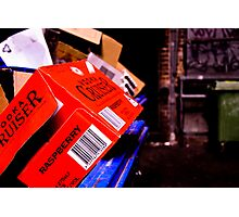 Beautiful Garbage Photographic Print