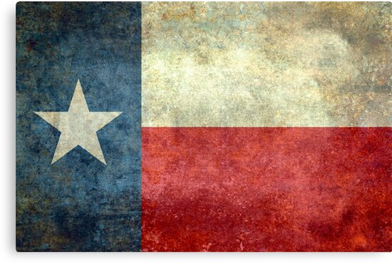 "The ""Lone Star Flag"" of The Lone State Texas by Bruce Stanfield"