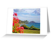 Makena Landing View  Greeting Card