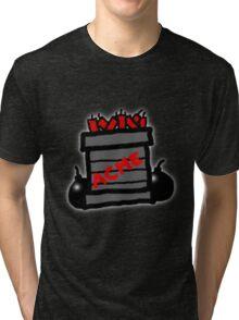 Cartoon TNT/Dynamite stack [Big] Tri-blend T-Shirt