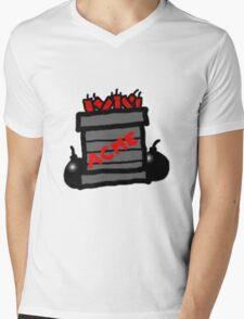 Cartoon TNT/Dynamite stack [Big] Mens V-Neck T-Shirt