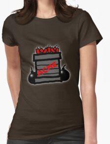 Cartoon TNT/Dynamite stack [Big] Womens Fitted T-Shirt