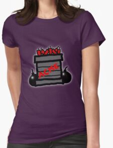 Cartoon TNT/Dynamite stack [Big] Womens Fitted T-Shirt