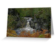 Autumn Afternoon - Ardverikie Estate Greeting Card
