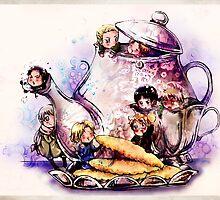 Teapot Teatime by Ryuu