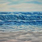 """""""Waves"""" - Oil Painting by Avril Brand"""