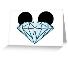 Diamond Disney Ears Color Greeting Card