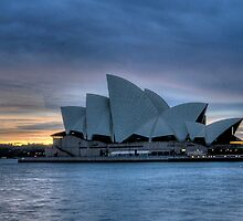 Blue Diva - Sydney Opera House - The HDR Experience by Philip Johnson