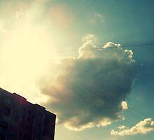 cloud peeps.. by Anna Shishkovskaya