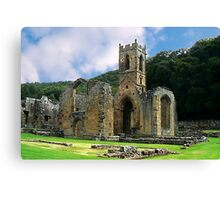 Mount Grace Priory - North Yorkshire Canvas Print